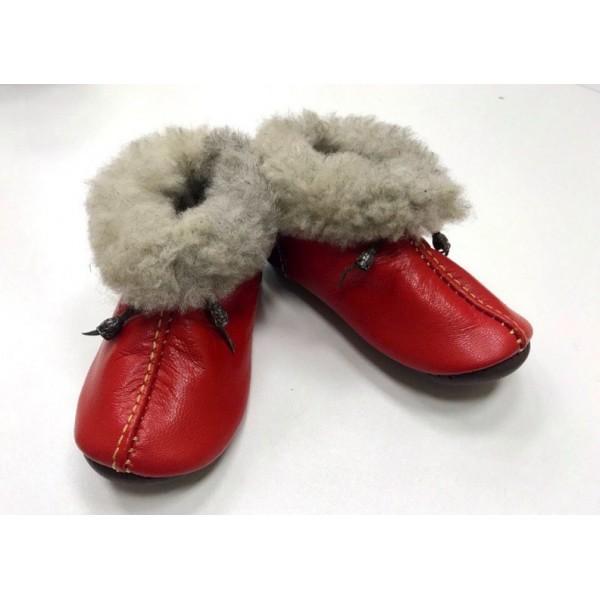 Кожаная обувь  детская