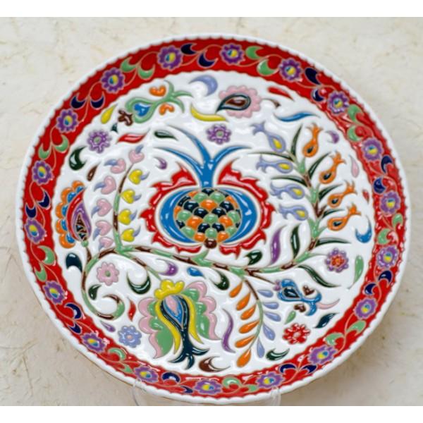 Керамическая тарелка от Эдема Ганиева