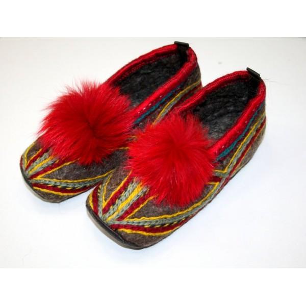 Обувь из войлока
